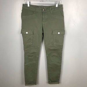 DL1961 Angie Cargo Pockets Green Pants